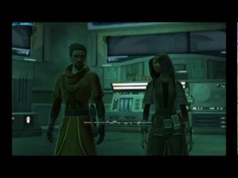 SWtOR Jedi Knight Story Cutscenes Pt. 17 [Chapter 2 Start / Balmorra / Light Side]