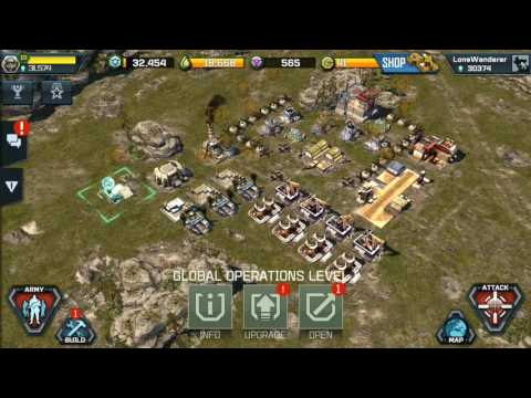 Deployment and using a Forward Operating Base War Commander Rogue Assault
