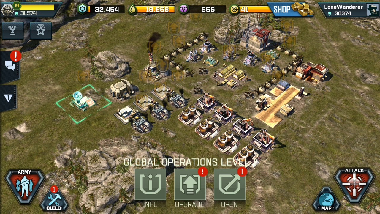 Deployment And Using A Forward Operating Base War Commander Rogue