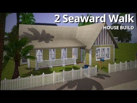 The Sims 3 House Building - 2 Seaward Walk - Aluna Island