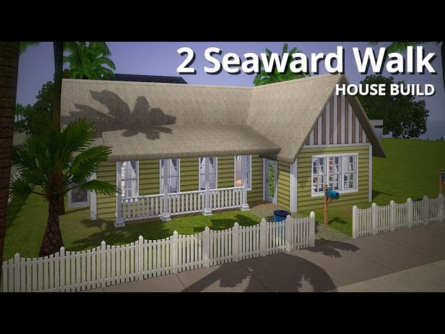 The Sims 3 House Building - 2 Seaward Walk - Aluna Island