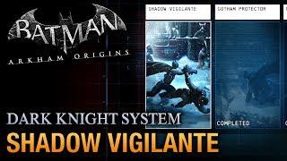 Batman: Arkham Origins - Shadow Vigilante Guide (Dark Knight System)