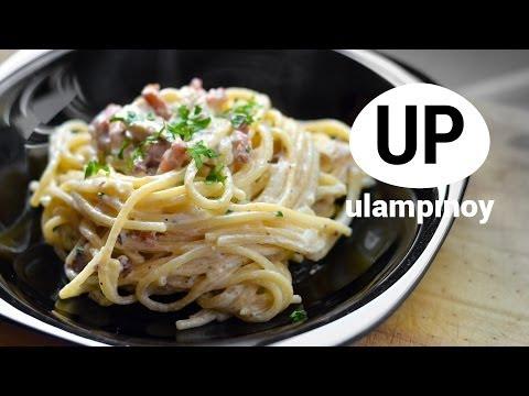 Spaghetti CARBONARA —  Ulam Pinoy #24