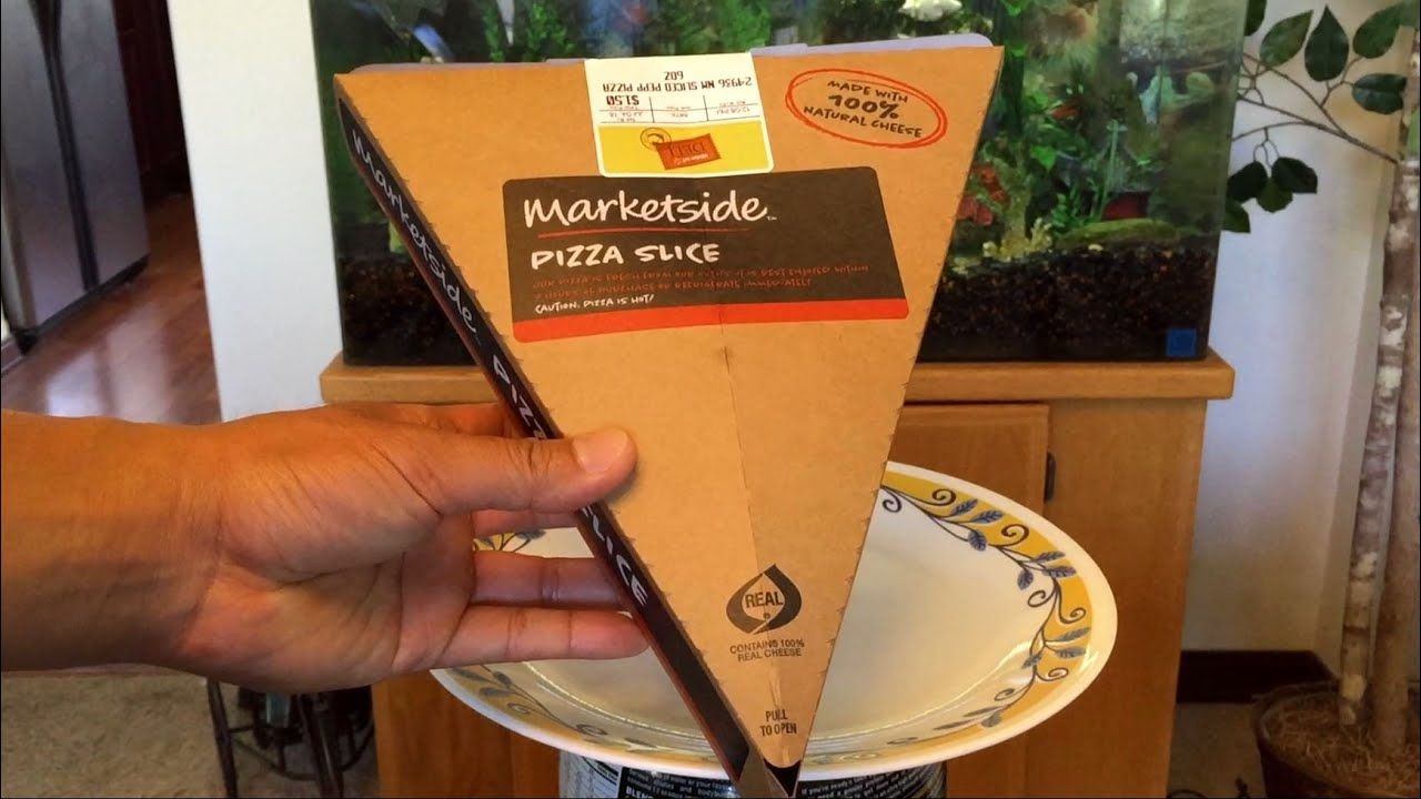 Walmart Marketside Pepperoni Pizza Slice - YouTube