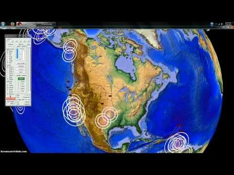 1/28/2014 -- Earthquake Overview -- Plate Movement across the US + New Madrid Uranium Facility