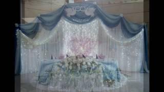 Красивое оформление помещений для свадьбы/Beautiful decoration for the wedding