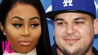 Blac Chyna Screams At Rob Kardashian For Cheating - VIDEO