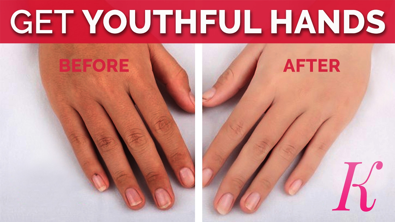 How To Get Younger-Looking Hands