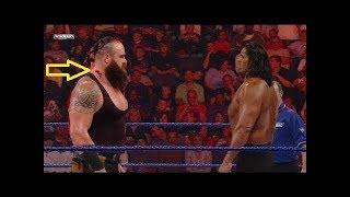 عندما يواجه الوحش براون سترومان عمالقة الـ WWE !!! الهندي كالي و الوحش بروك ليسنر و بيغ شو لايفوتكم