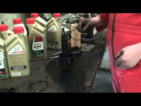 BMW 3 series E46 DIY engine oil change and service light reset