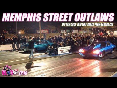 Memphis Street Outlaws JJ Arm Drop Barona Big Tire Borona