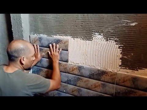 اشتغلت سيراميك الحمام الحوائط بالمادة على المحارة