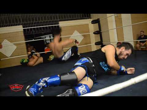 """All Or Nothing II - 3 Way Dance """" Aiden vs Mullem vs Obi"""" Full Match"""