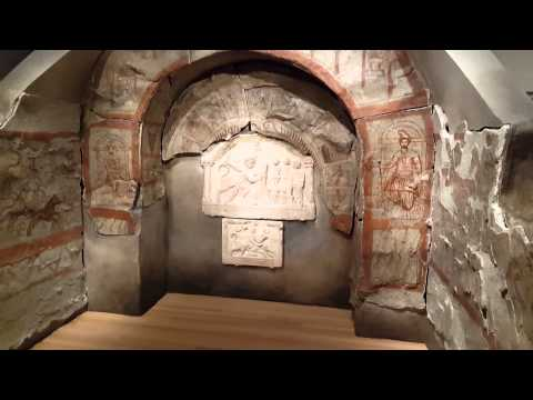 YUAG Ancient Roman exhibit walkthrough