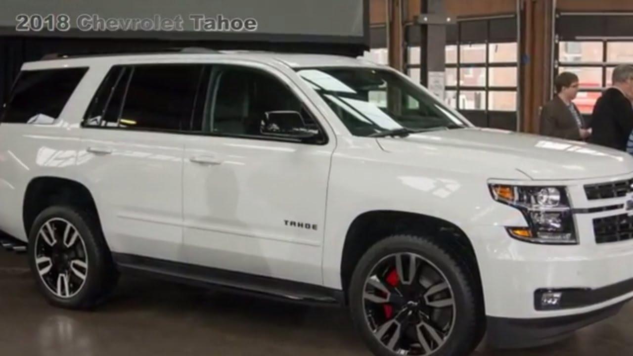 2018 Chevy Tahoe RST : Gets 420-Horsepower 6.2-liter V8 ...