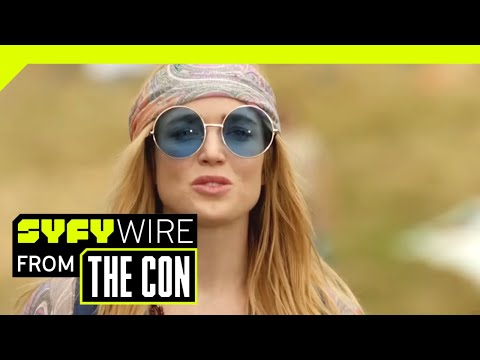 The Legends Of Tomorrow Season 4: Constantine And Monsters | SDCC 2018 |  SYFY WIRE