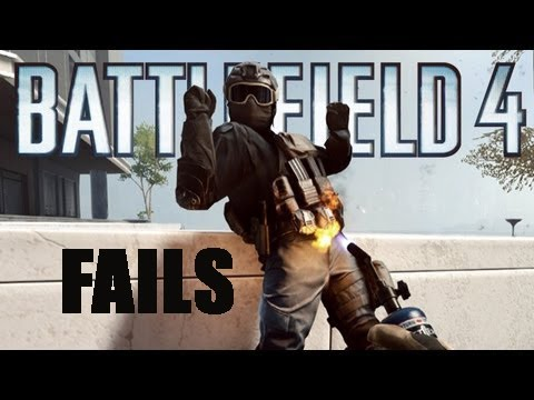 BATTLEFIELD 4 FAILS  Epic Moments! #01 (BF4 Funny Moments)