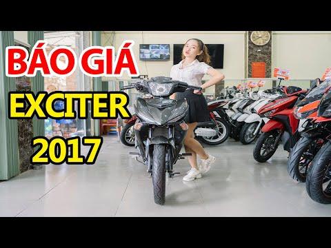 BÁO GIÁ EXCITER 150 (2017) DÀNH CHO ANH EM THÍCH MẪU CŨ NHA !!!