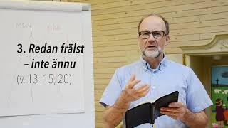 Dagens bibelstudium med Boris Salo, Filipperbrevet kap. 3