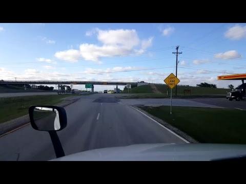 BigRigTravels LIVE! - Ardmore, Oklahoma to Denton, Texas - Interstate 35 - April 26, 2017