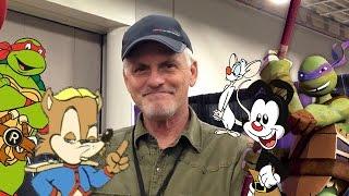 Zapętlaj Interview with Rob Paulsen! Antoine! Apritello! and Yakko's World!-Salt Lake Comic Con FanX Jan 2015 | sonictoast