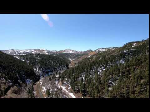 Black Hills AVP:  Aerial Shot Revealing the Mountains