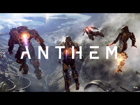 Anthem 10 Minutes Gameplay Demo E3 2017 Upcoming Ea