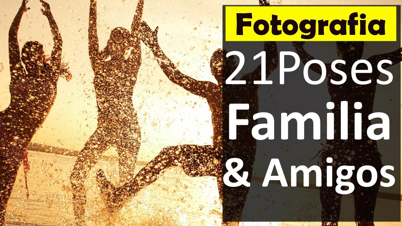 21 Ejemplos Poses Para Tomar Fotos Con Amigos & Familia