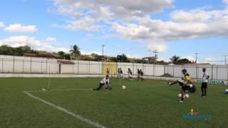 Treinamento do goleiro Daniel Meireles da seleção de Biritinga