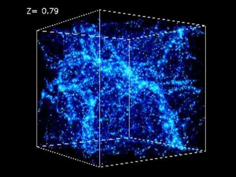 The Cosmic Web, or: What does the universe look like at a VERY large scale?