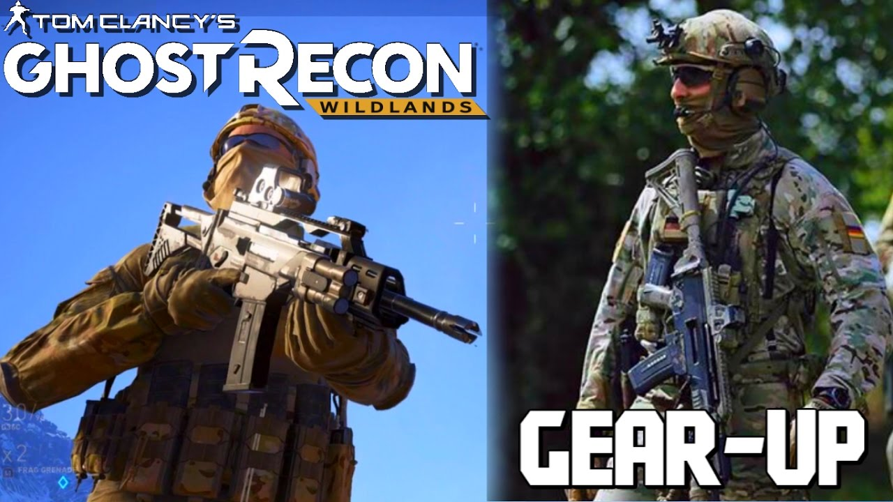 Military special forces gear - Ghost Recon Wildlands Gear Up German Special Forces Ksk