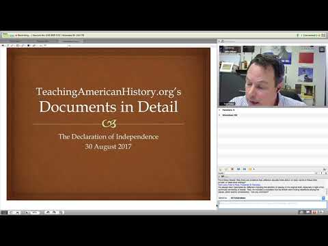 Documents in Detail: The Declaration of Independence