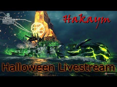 World of Warships - Clan Battle & Halloween Event