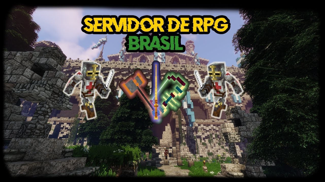 🔥 *NOVO* SERVIDOR DE RPG BRASILEIRO!! (Pirata e Original) 🔥