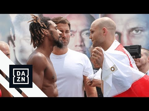 Weigh-In   Andrade vs Sulecki