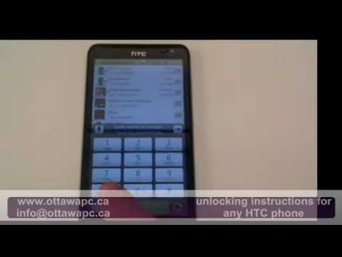 Unlocking HTC Raider 4G Rogers Telus Bell Tmobile At&t any network
