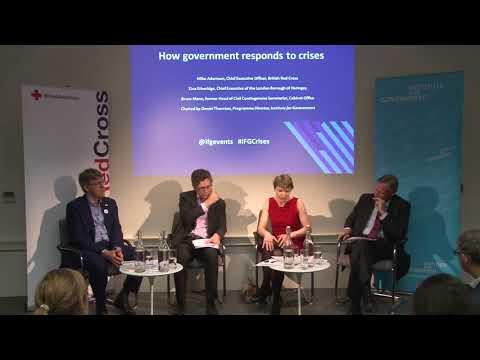How government responds to crises