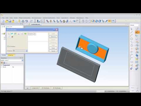 Part Modeler Video Tutorial - How to create a simple assembly