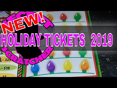 NEW OHIO CHRISTMAS TICKETS 2019 | THEY ROCK!!!