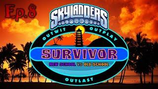 Skylanders Survivor New School VS Old school Ep.8 | Getting Closer | (Season 1)
