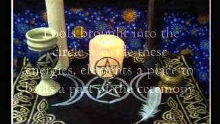Altar Ritual Ceremonial Sacred Space in Wicca Witchcraft Paganism