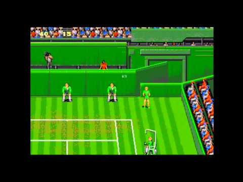 Wimbledon Championship Tennis - Mega Drive / Genesis Longplay