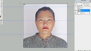 Great Idea! Create DV Photo Size in Photoshop नेपालीमा