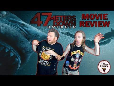 """""""47 Meters Down: Uncaged"""" 2019 Shark Movie Sequel Review - The Horror Show"""