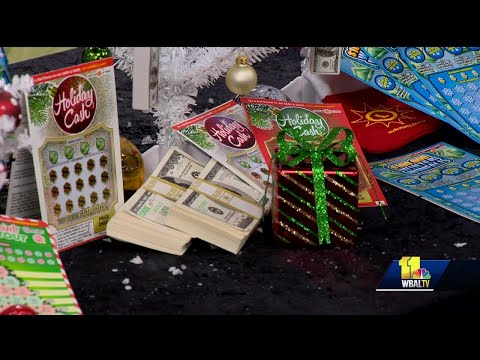 Maryland Lottery shows what's new for the holidays
