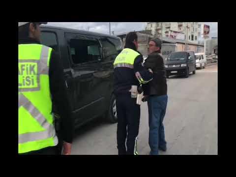 Trafik Polisin zor anları