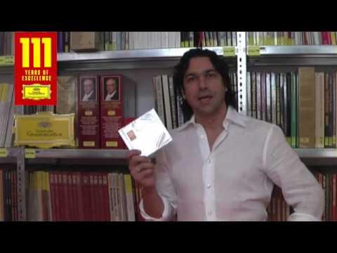 Ildebrano d'Arcangelo congratulates Deutsche Grammophon