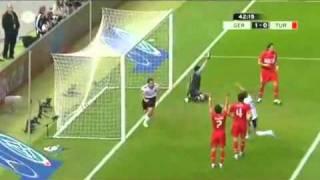 Deutschland vs Türkei 3 - 0 Alle Tore Highlights EM Qualifikation 2010.flv