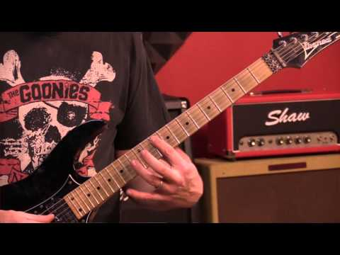 How to Play Van Halen's Cathedral On Guitar