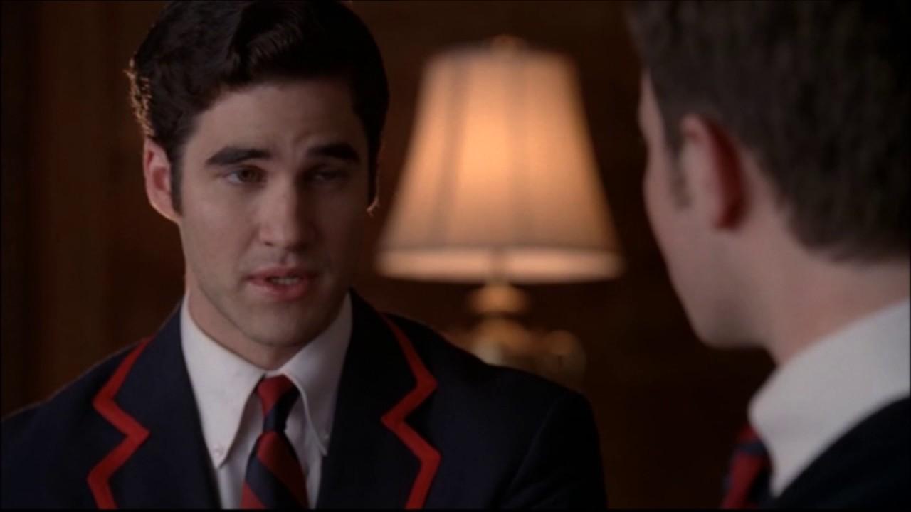 Finn Iphone X Wallpaper Glee Kurt And Blaine S First Kiss 2x16 Youtube